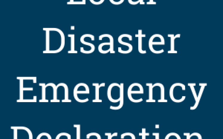local disaster